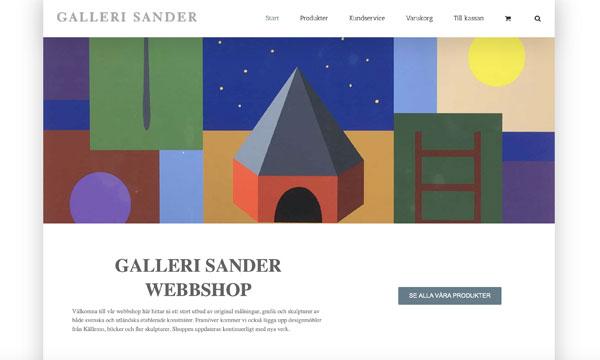 Galleri Sander Norrköping